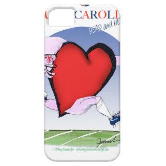 サウスカロライナのヘッドハート、贅沢なfernandes iPhone SE/5/5s ケース