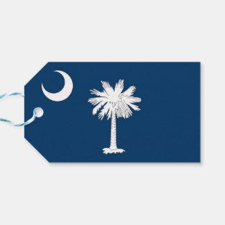 サウスカロライナの国家、米国の旗が付いているギフトのラベル ギフトタグ
