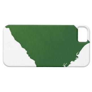 サウスカロライナの地図 iPhone SE/5/5s ケース
