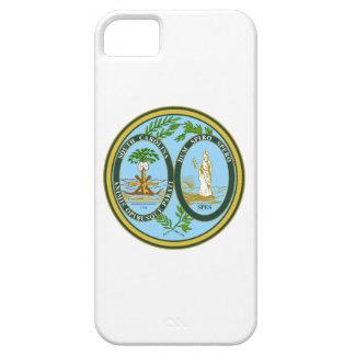 サウスカロライナの州のシールアメリカ共和国の記号 iPhone SE/5/5s ケース