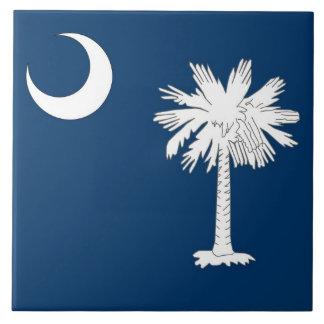 サウスカロライナの州の旗のタイル タイル