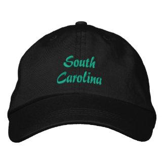 サウスカロライナの帽子 刺繍入りキャップ