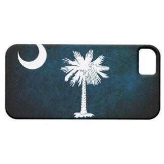 サウスカロライナの旗のiPhone 5つのケース iPhone SE/5/5s ケース