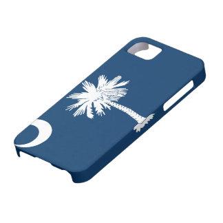 サウスカロライナの旗のiPhone 5の場合 iPhone SE/5/5s ケース