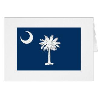 サウスカロライナの旗 カード