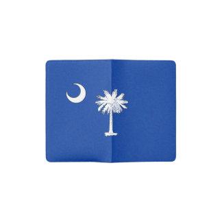 サウスカロライナの旗 ポケットMoleskineノートブック