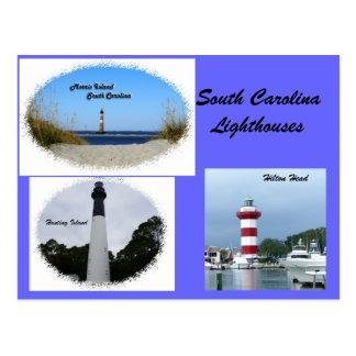 サウスカロライナの灯台 ポストカード