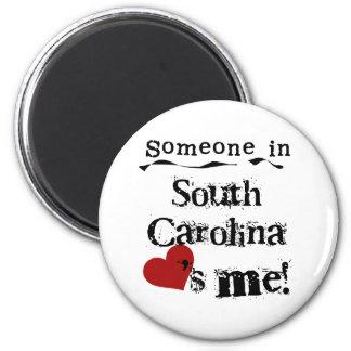 サウスカロライナの誰かは私を愛します マグネット