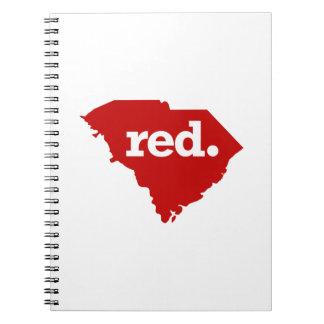 サウスカロライナの赤い州 ノートブック