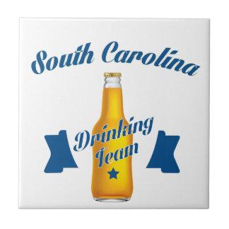 サウスカロライナの飲むチーム タイル
