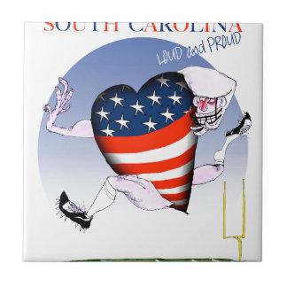 サウスカロライナの騒々しく、誇りを持った、贅沢なfernandes タイル
