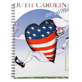サウスカロライナの騒々しく、誇りを持った、贅沢なfernandes ノートブック
