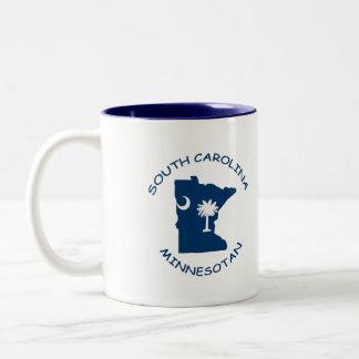 サウスカロライナのMinnesotanのコーヒー・マグ ツートーンマグカップ