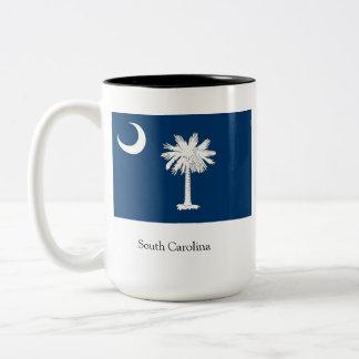 サウスカロライナ米国 ツートーンマグカップ
