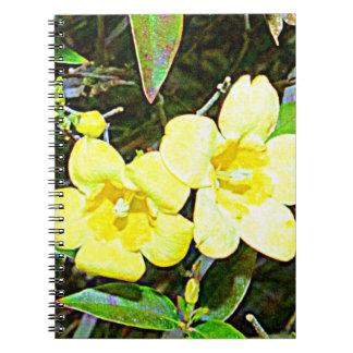 サウスカロライナ黄色いJessamine ノートブック