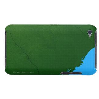 サウスカロライナ2の地図 Case-Mate iPod TOUCH ケース