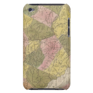 サウスカロライナ2の新しい地図 Case-Mate iPod TOUCH ケース