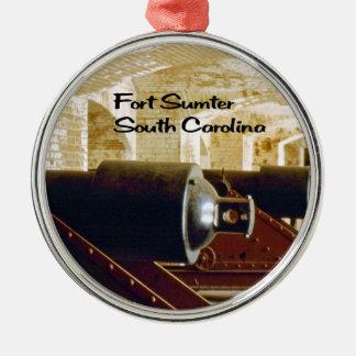 サウスカロライナ メタルオーナメント