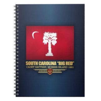 """サウスカロライナ""""大きい赤"""" ノートブック"""