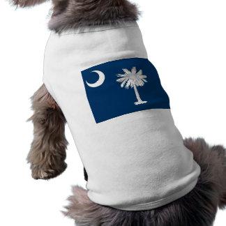 サウスカロライナ、米国の旗が付いているペット衣類 ペット服