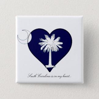 サウスカロライナ 缶バッジ