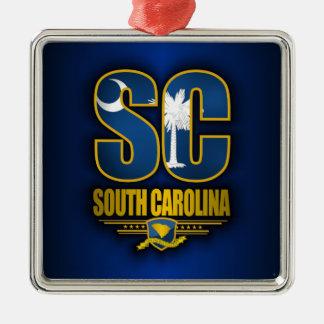 サウスカロライナ (SC) メタルオーナメント