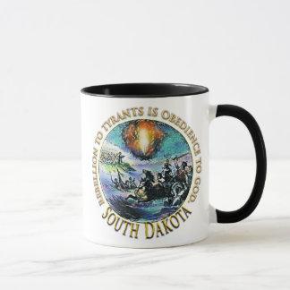 サウスダコタのお茶会のマグ マグカップ