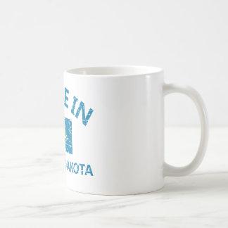 サウスダコタのデザイン コーヒーマグカップ