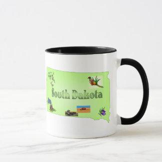 サウスダコタのマグ マグカップ