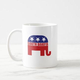 サウスダコタの共和党員象 コーヒーマグカップ