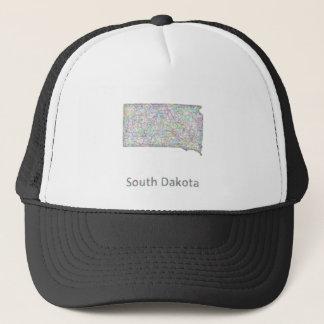 サウスダコタの地図 キャップ