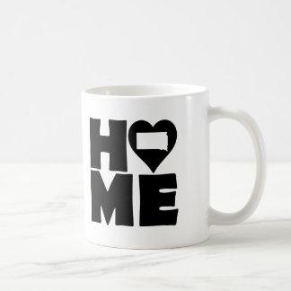 サウスダコタの家のハートの州のマグかタンブラー コーヒーマグカップ