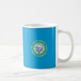 サウスダコタの州の旗のデザインの装飾 コーヒーマグカップ