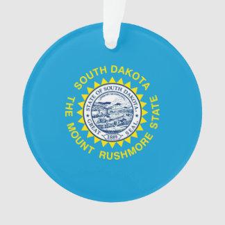 サウスダコタの州の旗のデザイン オーナメント