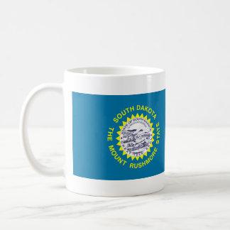 サウスダコタの州の旗 コーヒーマグカップ