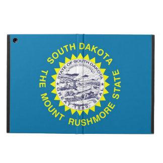 サウスダコタの旗との愛国心が強いipadの場合 iPad airケース