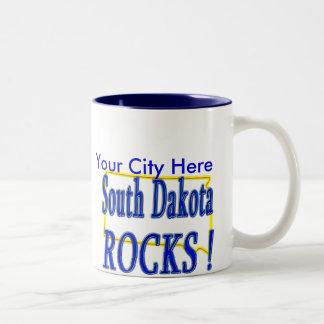 サウスダコタの石! ツートーンマグカップ