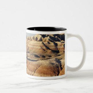 サウスダコタの荒地国立公園、荒地 ツートーンマグカップ