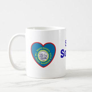 サウスダコタの誰かは私を愛します コーヒーマグカップ