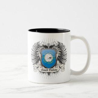 サウスダコタの頂上 ツートーンマグカップ