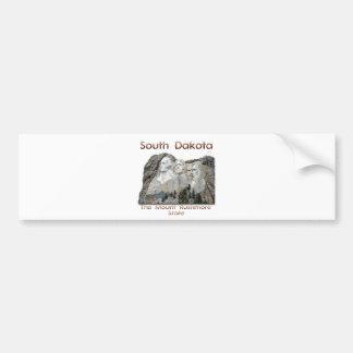 サウスダコタラシュモア山 バンパーステッカー