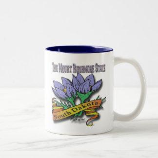 サウスダコタラシュモア山Pasque ツートーンマグカップ