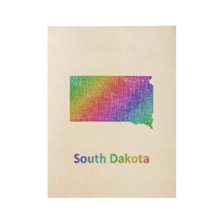 サウスダコタ ウッドポスター