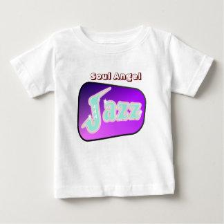 サクソフォーンとのジャズ ベビーTシャツ