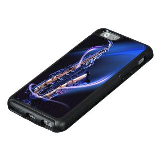 サクソフォーンのOtterBoxの青いiPhone6ケース オッターボックスiPhone 6/6sケース