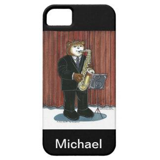 サクソフォーンプレーヤーのためのiPhoneの場合 iPhone SE/5/5s ケース