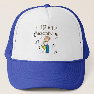 サクソフォーンプレーヤーの帽子 キャップ