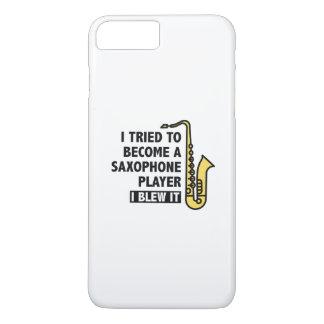 サクソフォーンプレーヤー iPhone 8 PLUS/7 PLUSケース