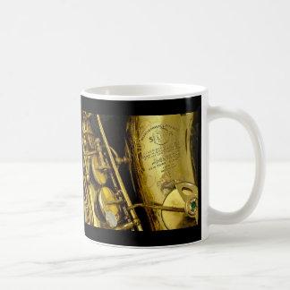 サクソフォーン コーヒーマグカップ