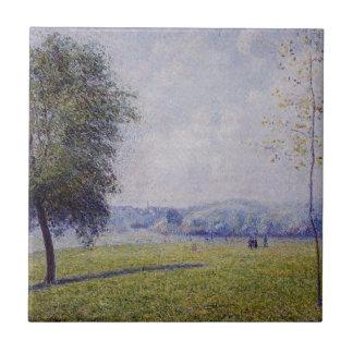 サクラソウの丘、カミーユ・ピサロ著理事の公園 タイル